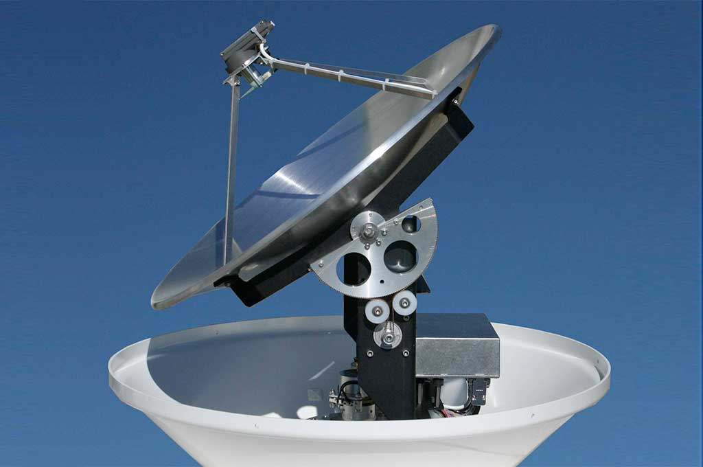 dome tracking schotelantenne